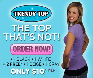 Trendy Top Hip Layer Tee